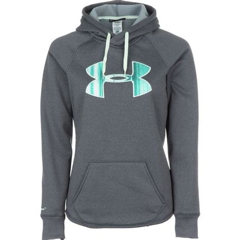 Hoodie Zipper Armour armour rival pullover hoodie 60 liked on polyvore