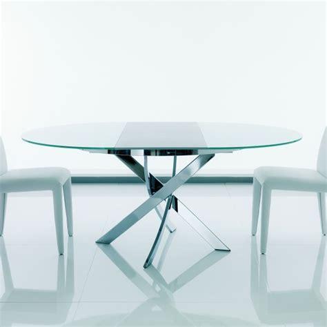 tavolo rotondo allungabile tavolo rotondo con gambe incrociate barone arredaclick