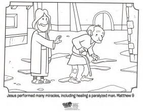 jesus heals bible coloring pages what s in the bible
