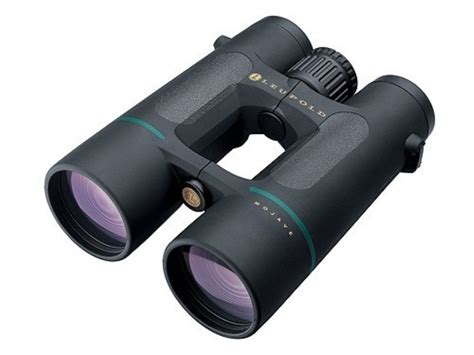 leupold green ring mojave binocular 10x 50mm roof prism black