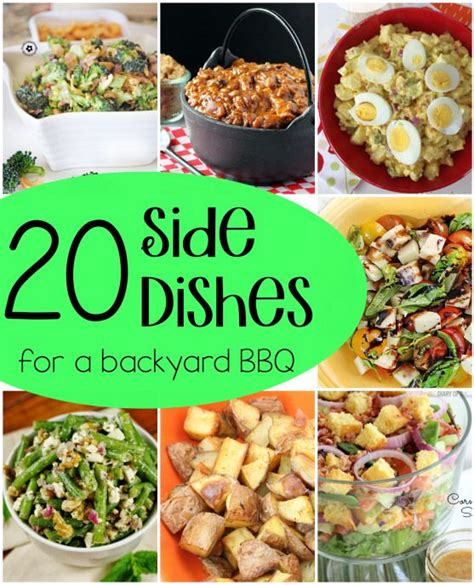 backyard bbq side dishes 20 side dishes for a bbq roundup