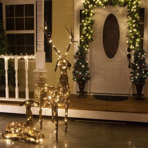 """Outdoor Christmas Decorations   48"""" Grapevine Standing"""