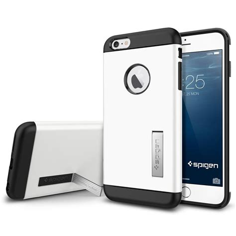 Sgp Creative For Iphone 6 Oem White 1 sgp tough armor plastic tpu combination with kickstand for iphone 6 plus oem white