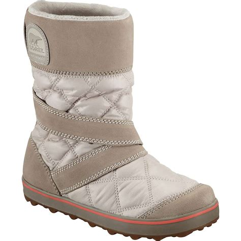 sorel glacy boot sorel s glacy slip on boot at moosejaw