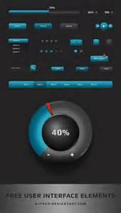 interface design template free ui design psd template desiggn