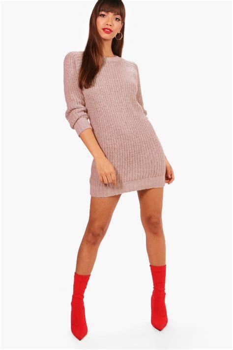 jumper dress soft knit jumper dress at boohoo