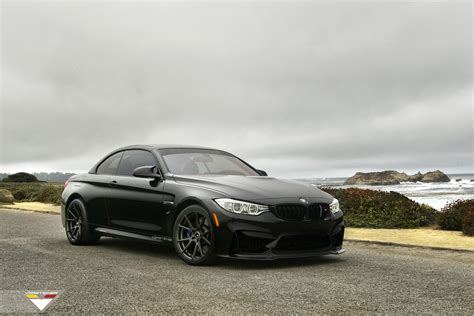 black convertible bmw vorsteiner gives a gorgeous black bmw m4 convertible a