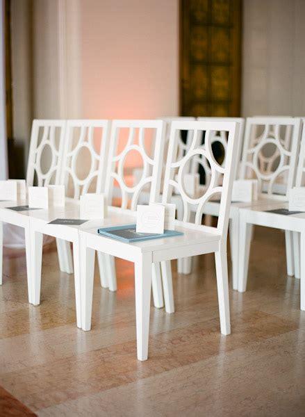 Wedding Ceremony Chairs by Modern Wedding Ceremony Chairs Elizabeth Designs