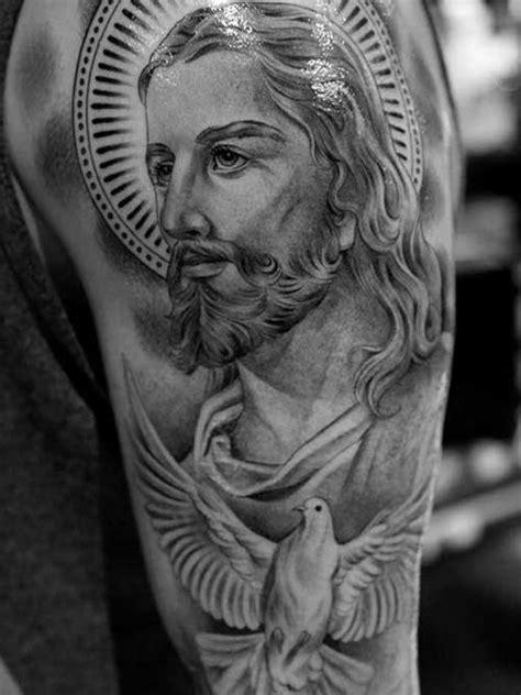 50 Tatuagens de Jesus Cristo: Braço, Costas, Barriga