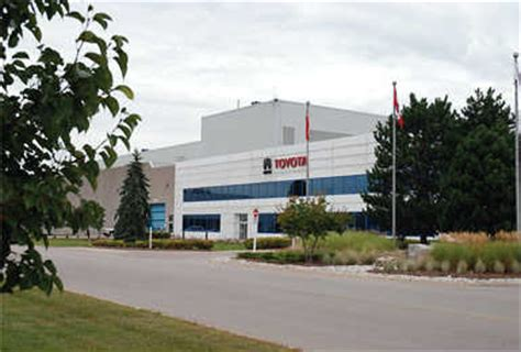 Toyota Motor Manufacturing Canada Canada S Economy On A Growth Track Area Development