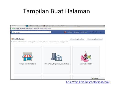 membuat facebook untuk jualan online tutorial membuat dan optimasi facebook fanpage untuk jualan