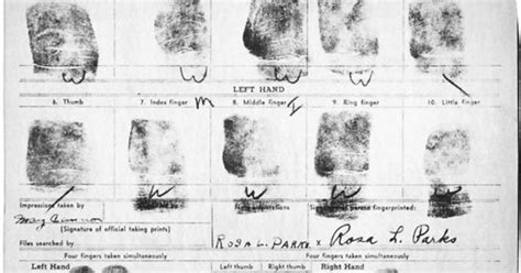 Rosa Parks Criminal Record Today In 1955 Rosa Parks Arrested Explore Arrest