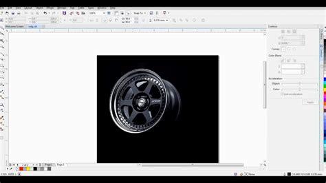 tutorial vector corel draw x7 wheel vector tutorial coreldraw x7 part1 youtube