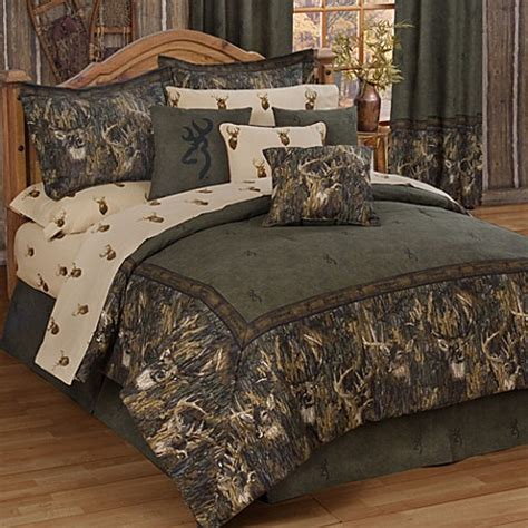 Browning Bed Sets Buy Browning Whitetails California King Comforter Set From Bed Bath Beyond