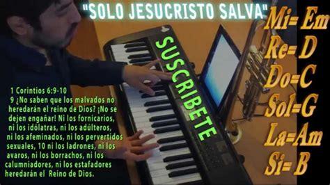tutorial piano vino celestial cantare al senor por siempre alabanzas cristianas tut