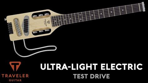 The Light Like A Guitar Only With Light by Traveler Guitar Ultra Light Electric Product Overview And