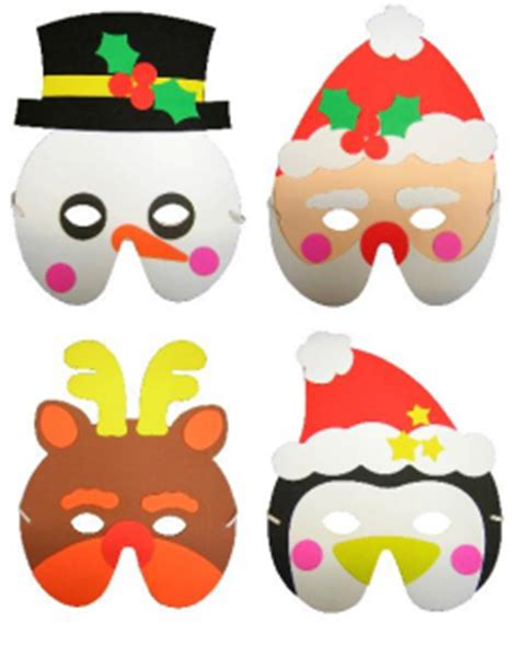 christmas mask assorted