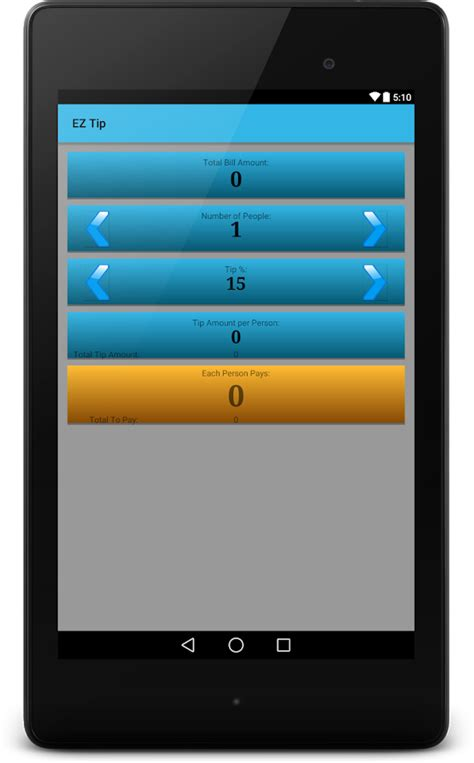 Ez Form Calculator V2 9 9 5 ez tip calculator android apps on play