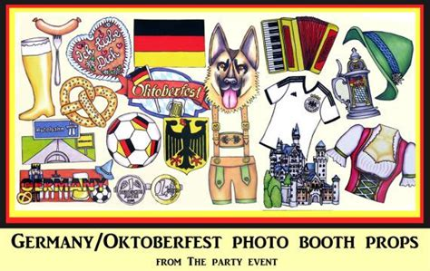 free printable oktoberfest photo booth props germany oktoberfest photo booth props perfect for your own