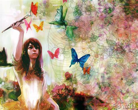 imagenes artisticas de angeles wallpapers de anime con un toque art 237 stico mil recursos