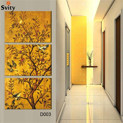 3 free shipping sell modern 3 pieces free shipping popular sell modern wall painting flower bird home wall picture