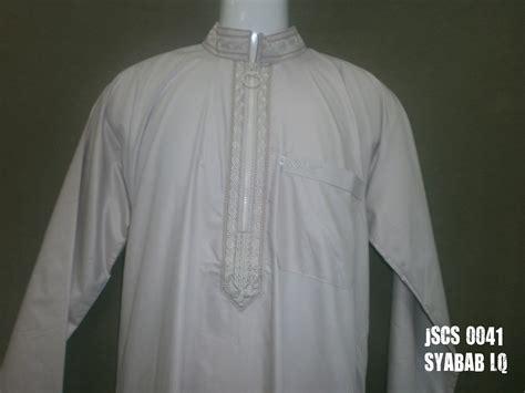 Jubah Saudi Cotton bilal store koleksi jubah lelaki jubah saudi cotton sulam