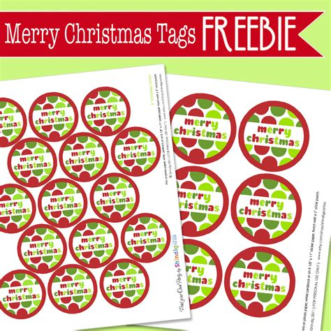 amanda s parties to go free merry christmas tags and gift