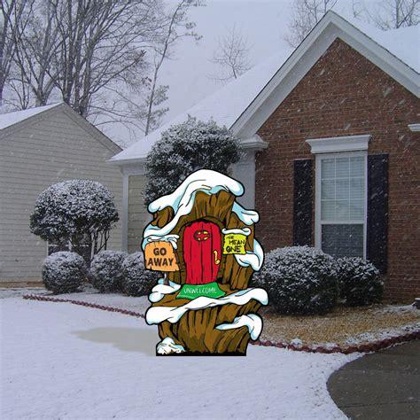 grinch s grinch whoville grinch s lair yard decor ebay