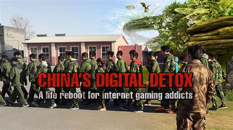 China S Digital Detox inside a rehab centre for gaming addicts