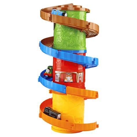 friends take n play spiral tower tracks mega set