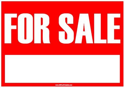 car for sale sign template using your browser s menu print for sale sign for sale
