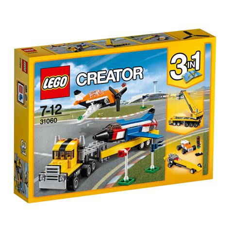 Set 3in1 1 31060 lego creator airshow aces 3 in 1 set 246 pieces age 7 12 new for 2017 ebay