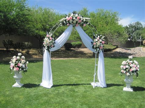 Wedding Arch Ideas by Forevermore Wedding Decor Arches