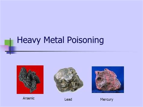 Lead Detox Protocol by Heavy Metal Toxicity What Are The Symptoms Autos Post