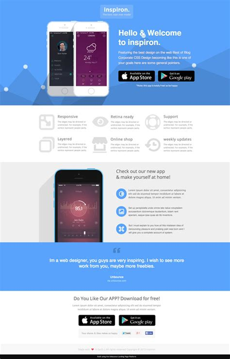 landing page template so you think you re a landing page designer 5 templates