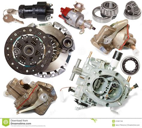 Sparepart Ss automotive spare parts stock image image of motor many