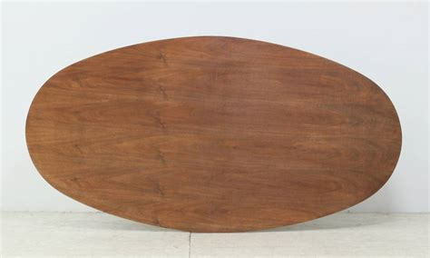 oval italian dining table with wooden top at 1stdibs
