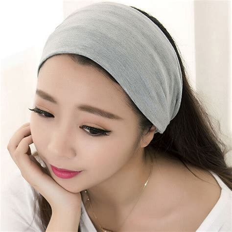 comfortable headbands 2016 fashion women hair accessory full vintage wide ribbon