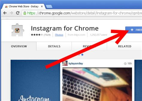 chrome instagram instagram chrome eklentisi indir