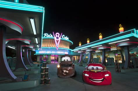 lightning mcqueen night l cruising at night with lightning mcqueen and mater in cars