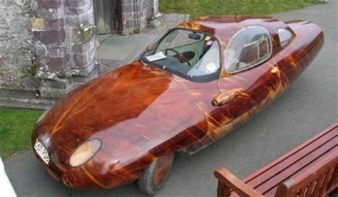 Handmade Cars - tryane ii the handmade wooden car gearfuse