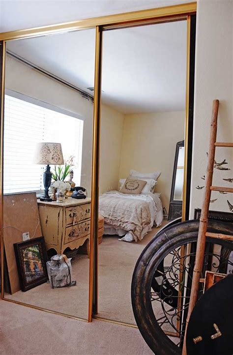 How Much Are Mirrored Closet Doors by Guest Bedroom Makeover Reveal Tidbits Twine