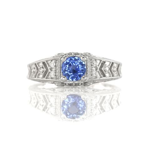 the history of sapphire engagement rings the