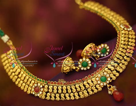 Handmade Gold Jewellery Designs - nl1083 antique plated fancy design handmade fashion