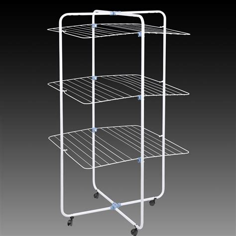 30m foldable indoor laundry tower clothes airer dryer