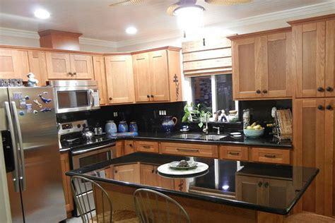 kitchen cabinets with light countertops homeofficedecoration black kitchen cabinets with light