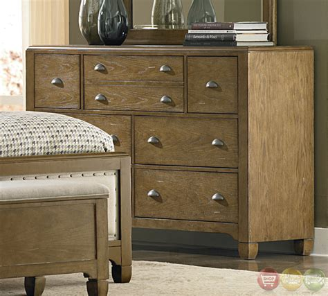 town and country bedrooms town and country distressed upholstered panel bedroom set