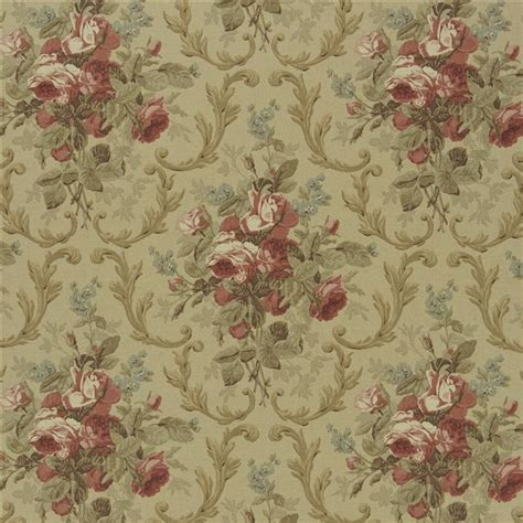 Cottage Fabric by Cottage Floral Tea Fabric Raplh