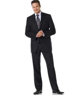 Ralph Total Comfort Suit Separates by Ralph Total Comfort Navy Wool Suit Suits