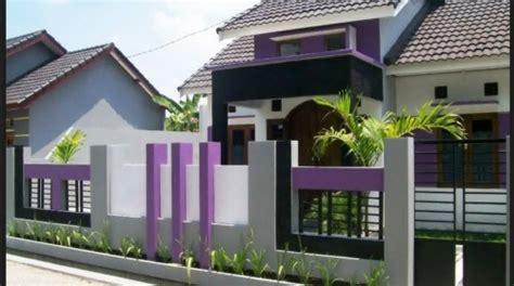 model pagar tembok minimalis  rumah terbaru